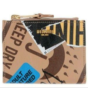 AW17 MOSCHINO Jeremy Scott Cardboard  Wallet